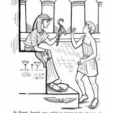 Free Coloring Pictures Of Joseph In Egypt