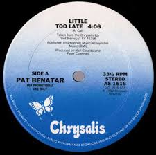 pat benatar late pat benatar late vinyl at discogs