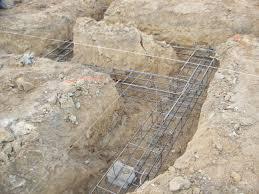 villa individuelle à alenya fondations terminées et en cours de