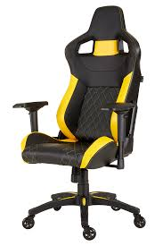 CORSAIR T1 RACE Gaming Chair - Black / Yellow - Newegg.com Top Gamer Ergonomic Gaming Chair Black Purple Swivel Computer Desk Best Ever Banner New Chairs Xieetu High Back Pc Game Office 10 Under 100 Usd Quality 2019 Deals On Anda Seat Dark Knight Premium Buying The 300 Updated For China Workwell Cool Of Complete Reviews With Comparison Ten Fablesncom Noblechairs Epic Series Real Leather Free Shipping No Tax Noblechairs Icon Grain Cha Ocuk