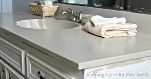 Wonderful How To Repaint Bathroom Countertops Using Rustoleum