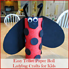 Easy Toilet Paper Roll Ladybug Crafts For Kids 1