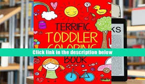 Audiobook Terrific Toddler Coloring Book For Toddlers Easy Educational