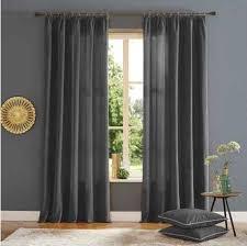 home affaire vorhang brighton gardine fertiggardine blickdicht grau wohnzimmergardinen gardinen nach räumen vorhänge gardine