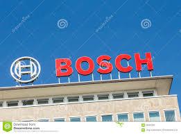 bosch siege social les lettres bosch au siège social dans wetzlar image éditorial