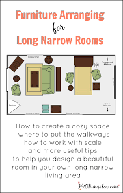 Small Rectangular Living Room Layout by 7 Tips For Arranging Furniture In A Long Narrow Living Room