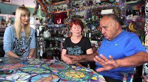 offbeat l a visits the mosaic tile house in venice ca