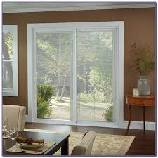 French Patio Doors With Built In Blinds by Fiberglass Sliding Patio Doors With Blinds Patios Home