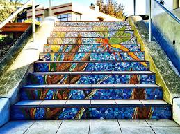 16th Avenue Tiled Steps Project by San Francisco Staircases Perfect For A Workout Or A View