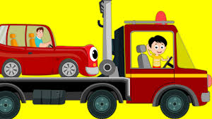 100 Truck Song Tow Transport Car Nursery Rhymes For Kids