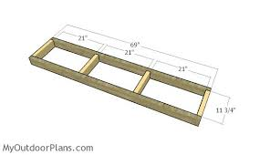 folding picnic table plans myoutdoorplans free woodworking