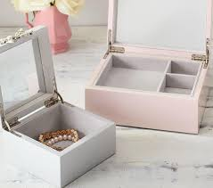 Monique Lhuillier Gem Jewellery Boxes | Pottery Barn Kids 25 Cute Travel Jewelry Box Ideas On Pinterest Jewellery Bedroom Amazing Girls White Jewelry Boxes Standing Mirror Pottery Barn Andover Tall Box Ufafokuscom Monique Lhuillier Style Guru Fashion Glitz Pebble Leather With Purple Suede Interior 3820 New Large Dresser Unique Glass Jewellery Nib Josie Mirrored Medium Interior Faedaworkscom
