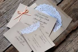 Photo Gallery Of The Handmade Rustic Wedding Invitation Ideas