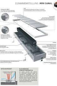 unterflurkonvektor 19 x 26 x ab 110 cm ab 392 watt
