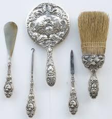 Vintage Vanity Dresser Set by 160 Best Antique Silver Vanity Sets Images On Pinterest Antique