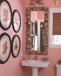 stylish bathroom decorating ideas soft pink walls