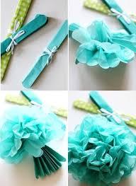 Make Hanging Tissue Paper Pompoms Pom Poms Decoration Ideas Backdrop Baby Girl Shower Decorations Wedding Getaway Car