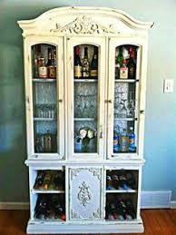 have an old china cabinet or entertainment unit transform it