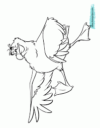 The Little Mermaid Coloring Pages Disney Book Scuttle Barbie Pictures To Color Images Cartoons