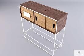 holz beistelltisch konsolentisch aus massivholz ins wohnzimmer diele denis