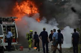 VIC: Gas Explosion Burns Worker - OHS News Russian Truck Gas Explosion Hd Tanker Truck Fire Kills More Than 100 People In Gerianile Tanker Fire Kills Driver Temporarily Shuts Down I270 And Us Explodes Closing I94 Near Detroit Chicago Tribune Overturned Causes Massive Atwater Driver Dies At The Scene Propane Gas Explosions In Jackson Hole Wy At Amerigas Nevada County Wreck Update Authorities Recover Victims Of Fatal Arrested Umvoti Drivers Released Zuland Obsver Explosion Gnville The Daily Gazette Injuries From Modern Sales Pittston Pa Watch A Fuel Burst Into Massive Fireball On Louisiana Energy Accidents Wikipedia