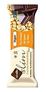 Nugo Slim Gluten Free Vegan Crunchy Peanut Butter 159 Oz Bars Pack Of 12