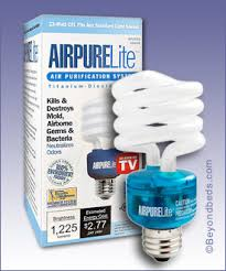 air purifying light bulbs destroy household odors and smoke on contact
