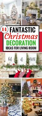 14 Fantastic Christmas Decoration Ideas For Your Living Room