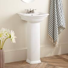 18 Inch Pedestal Sink by Mini Washington Porcelain Pedestal Sink 4