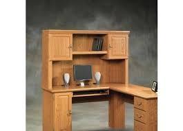 desk sauder desk with hutch sauder harbor view computer desk