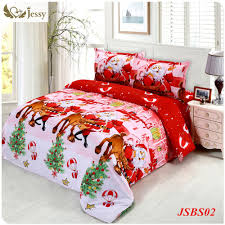 Bed Sheet Material by Jessy Home Christmas Merry Kids Duvet Comforter Cover Twin Queen