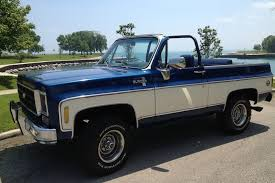 100 75 Chevy Truck Your Ride 1974 K5 Blazer