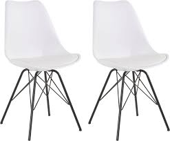 homexperts esszimmerstuhl ursel 01 2 stück sitzschale mit sitzkissen in kunstleder kaufen otto