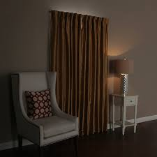 Eclipse Room Darkening Curtain Rod by Amazon Com Best Home Fashion Curtain Rod Collection Wraparound