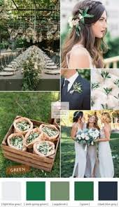 Green Wedding Theme Ideas Different Shades Of