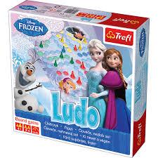 Disney Frozen Ludo Board Game The Entertainer