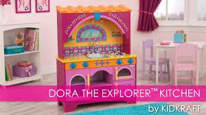dora the explorer children s play kitchen toy review youtube