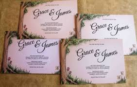 Rustic Garden Wedding Invites
