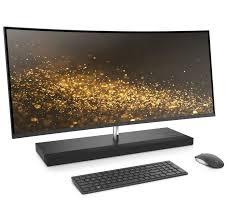 ordinateur de bureau hp tout en un hp 34 b000nf ordinateur de bureau tout en un 34 gris cendré