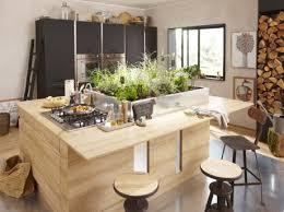 cuisine avec poteau au milieu bien concevoir îlot de cuisine leroy merlin
