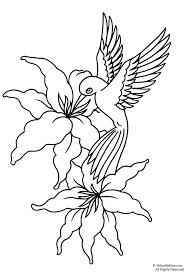 flower stencils printable your free printable tattoo designs