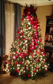 Prelit Christmas Tree Self Rising by The Nifty Thrifty Family November 2012