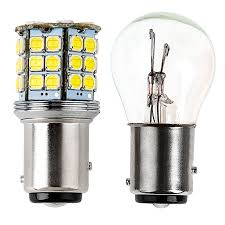 1157 led bulb dual function 45 smd led tower bay15d retrofit