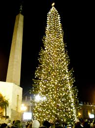 Colored Bulbs For Ceramic Christmas Tree by Vatican Christmas Tree Wikipedia