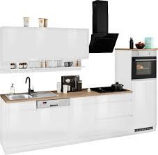 held möbel küchenzeile virginia mit e geräten breite 300 cm kaufen otto
