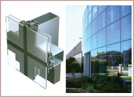 invisible aluminum frame glass unitized curtain wall buy