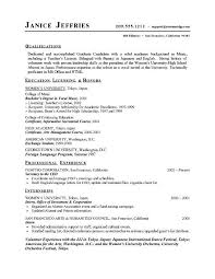 College Resume For Highschool Students Template High School Student Templates Collegesample Free
