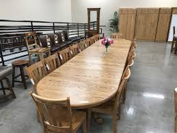 48 Inch Wide Table With 12 Leaves Seat 20 USA Made