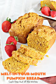 Nordic Ware Pumpkin Loaf Pan Recipe by Melt In Your Mouth Pumpkin Bread Can U0027t Stay Out Of The Kitchen