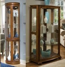 curio cabinets collection